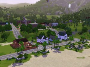 City in the field (The Sims 3)