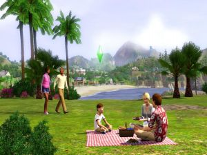 Picnic (The Sims 3)