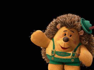 Porcupine teddy