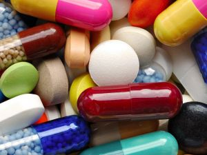 Colored medicines