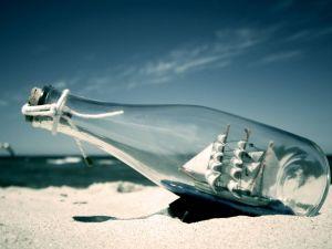 Ship into a bottle