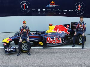 Red Bull drivers, Vettel and Webber