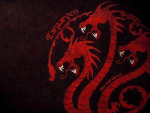 Dragon seal of Targaryen family