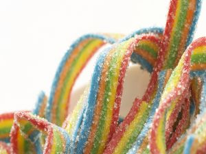Licorice rainbow