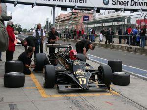 Lotus 87B at the Nurburgring circuit, Germany