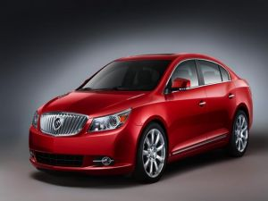 Buick LaCrosse red-colored