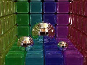 3D balls and cubes
