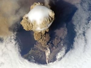 Sarychev Volcano Eruption, Matua Island (Kuriles)