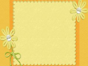 Decorative daisies