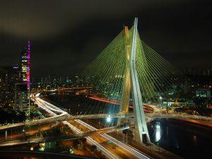 Octavio Frias de Oliveira Bridge (Sao Paulo, Brazil)