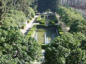 Gardens of the Alcazar of Seville