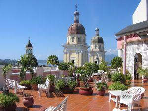 Roof of Hotel Casa Grande, in Santiago de Cuba