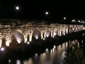 Roman bridge of Merida, Spain