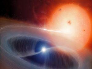 Cosmic atom