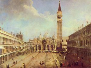 Piazza San Marco, by Canaletto