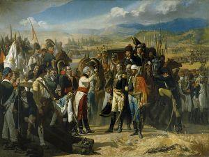 """""""The Surrender of Bailen"""", by Casado del Alisal"""