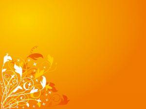 Orange minimalist