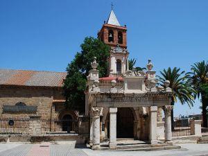 Basilica of Santa Eulalia in Merida, Badajoz, Spain