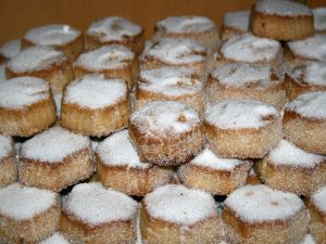 Almond pastries (Castile and Leon, Spain)