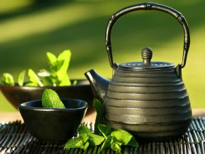 Tea and spearmint