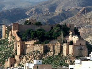 Alcazaba of Almeria (Andalusia, Spain)