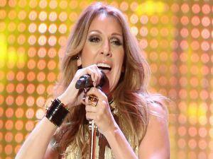 The singer Celine Dion