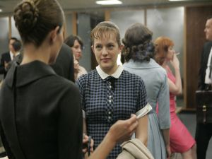 "Peggy Olson in ""Mad Men"""