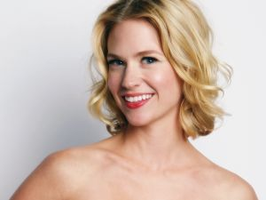 The actress January Jones