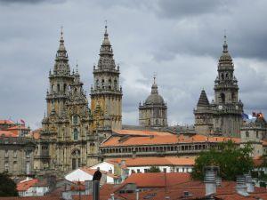 Cathedral of Santiago de Compostela (Galicia, Spain)