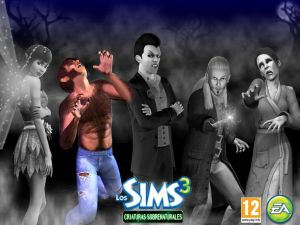 The Sims 3. Supernatural creatures