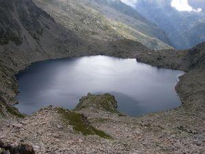 Lake of Contraix, Bohí Valley, Alta Ribagorça (Catalonia, Spain)