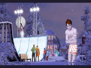The Sims 3. Four seasons