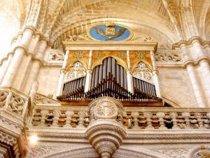 Organ of San Esteban Church (Retablo Museum) Burgos, Spain
