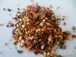 Mix of spices and seeds