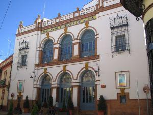 "Theatre ""Salón Gutiérrez de Alba"", in Alcalá de Guadaíra (Sevilla, Spain)"