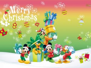 Merry Christmas Disney