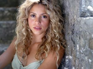 A young Shakira