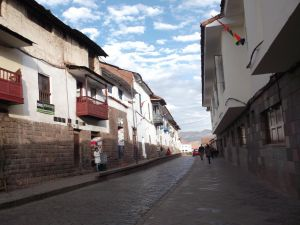 Street of Cusco, Peru