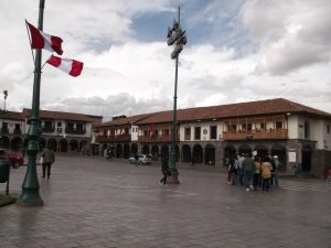 The main square of Cusco