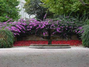 Alameda Park, Santiago de Compostela, Galicia, Spain