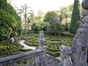 Pazo de Mariñán (main garden and staircase)