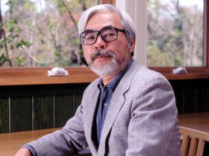 Hayao Miyazaki, Japanese illustrator and creator of animated films