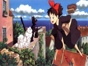 """""""Kiki's Delivery Service"""", by Hayao Miyazaki"""