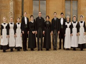 Service member in Downton Abbey