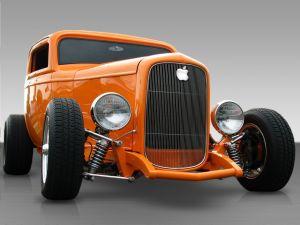 Classic car brand Apple