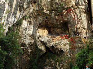 The Holy Cave of Covadonga (Asturias, Spain)