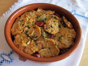 """Patatas a la importancia"", palentine typical stew"