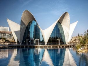 Oceanographic at City of Arts and Sciences in Valencia (Spain)