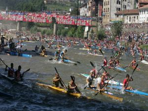 International Descent of the River Sella, Arriondas, Asturias