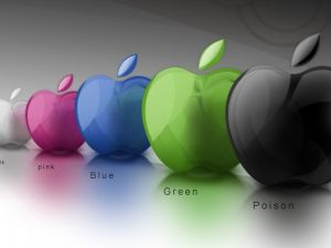 Apple of colors